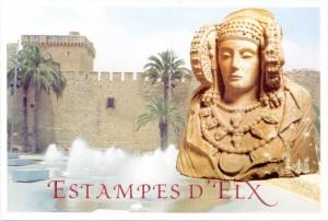 Tarjeta postal - Tarjeta Estampes d'Elx