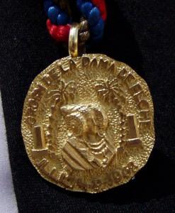 Objeto - Medalla de Oro