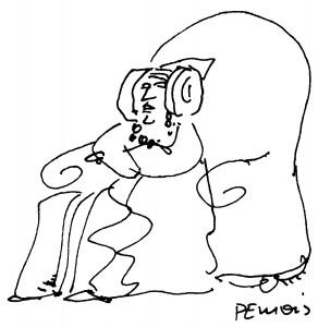 Dibujo - Dama de Elche. Observaciones sobre la Dama de Elche.