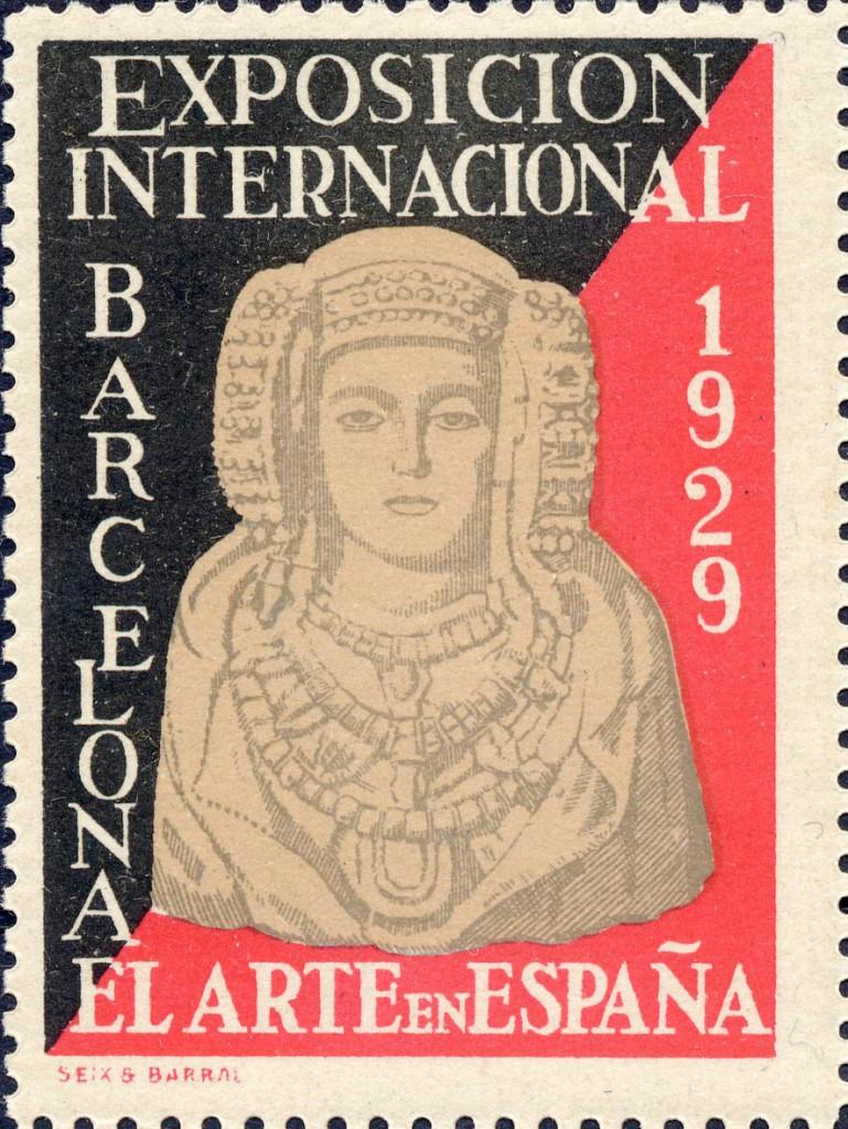 Timbre - Sello Exposición Internacional de Barcelona de 1929