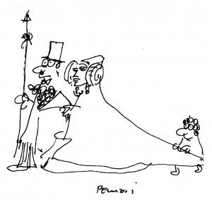 Dibujo - Dama de Elche. Una imagen mediterránea.