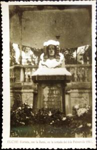Tarjeta postal - Tarjeta Dama nevada