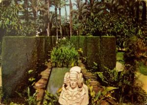 Tarjeta postal - Montaje del Parque y la Dama