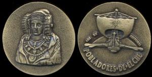 Objeto - Medalla Pobladores de Elche
