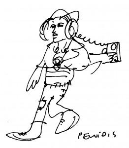 Dibujo - Dama de Elche. Algunas consideraciones sobre el uso y abuso de símbolos arqueológicos en el siglo XX.