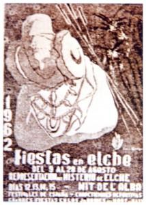 Cartel - Fiestas de Elche