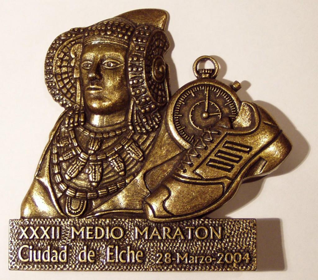 Objeto - Trofeo Media Maratón