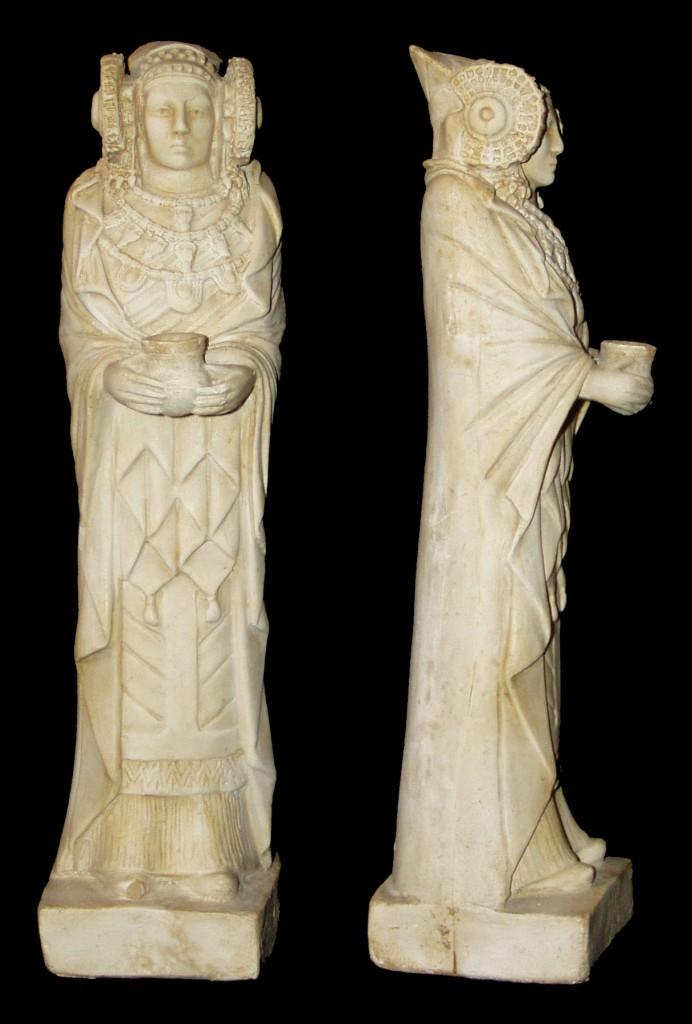 Escultura - Dama Elche estante
