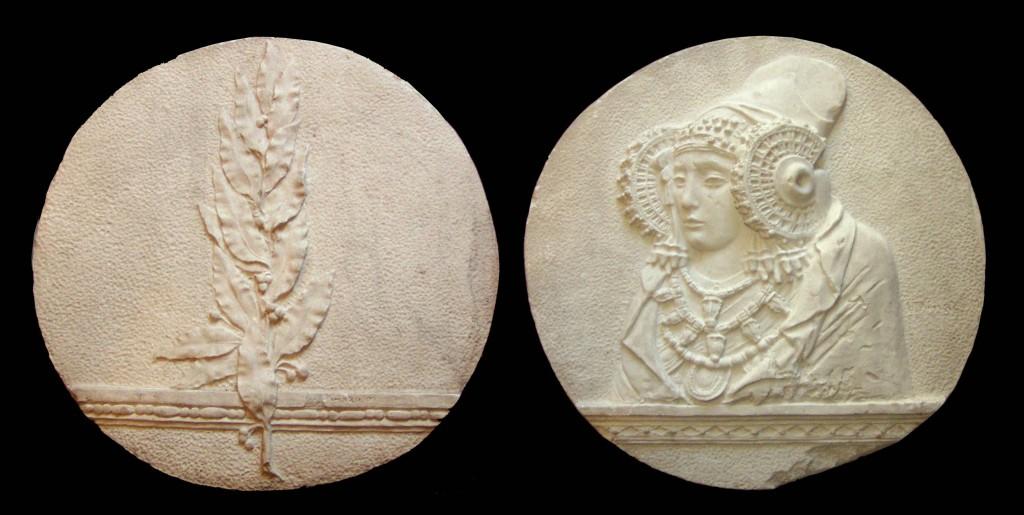 Escultura - Dama Elche medallón