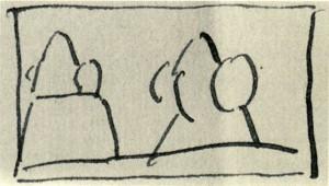 Dibujo - Esquema Dama de Elche