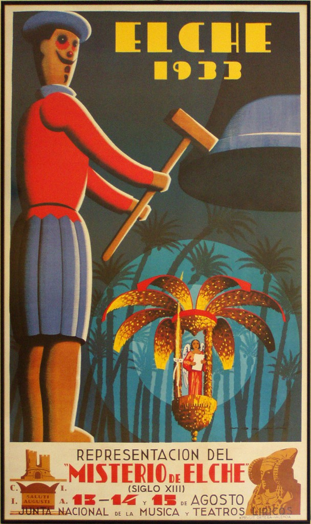 Cartel - Cartel Misterio de Elche 1933