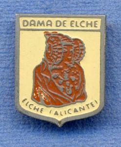 Objeto - Dama insignia escudo