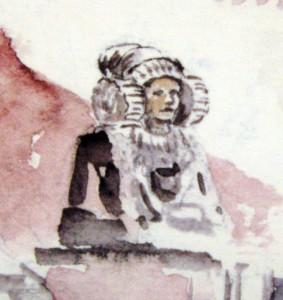 Pintura - Cuadro con motivos de Elche
