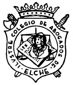 Logotipo - Ilustre Colegio de Abogados de Elche