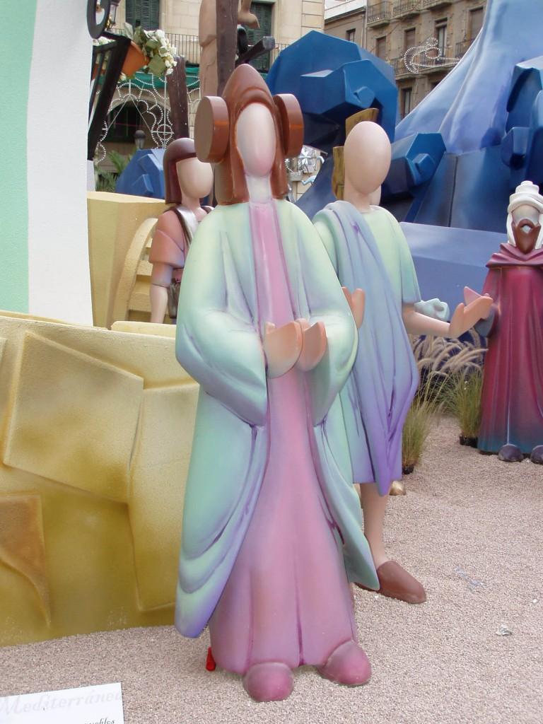 Escultura - Dama Hogueras
