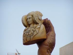 Escultura - Dama Hoguera S. Juan Elche