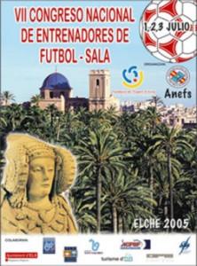 Cartel - VII Congreso Nacional de Entrenadores de Fútbol-Sala
