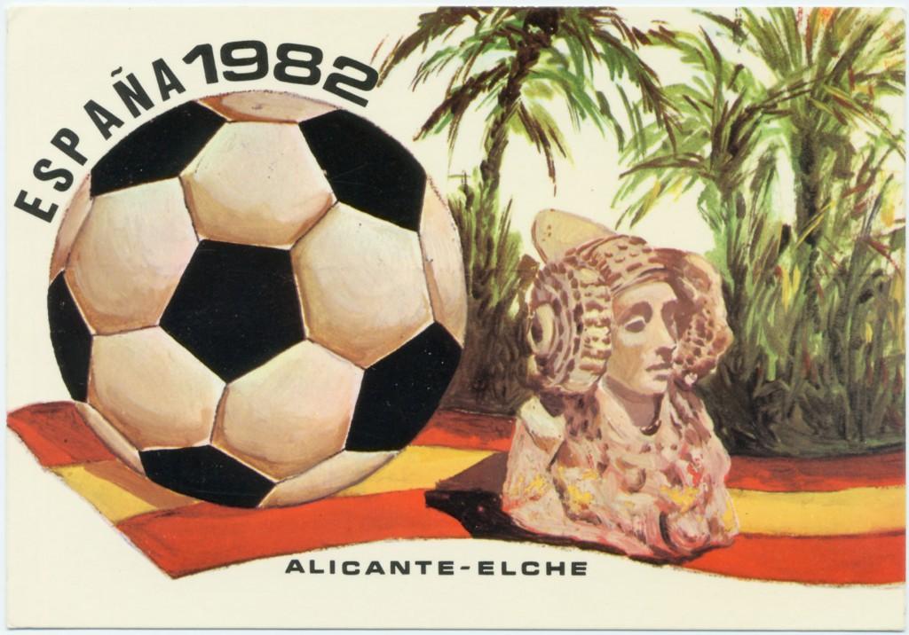 Tarjeta postal - Tarjeta España 1982
