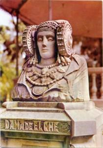 Tarjeta postal - Tarjeta Dama de Elche