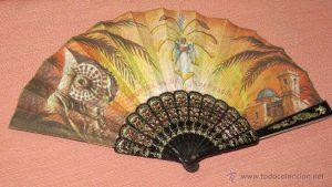 MISTERI D'ELX (SEGLE XIII) FESTES D'AGOST. Se vende por 25 € por AntiguetandCo. En http://www.todocoleccion.net/antiguedades/abanico-recuerdo-fiestas-agosto-elche-alicante~x44380034