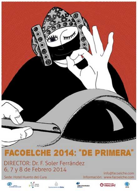 Concurso de carteles para el congreso FACOELCHE de 2014