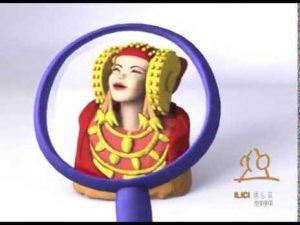 Del vídeo realizado como guía para niños del Museo Arqueológico y de Historia de Elche en su inauguración.