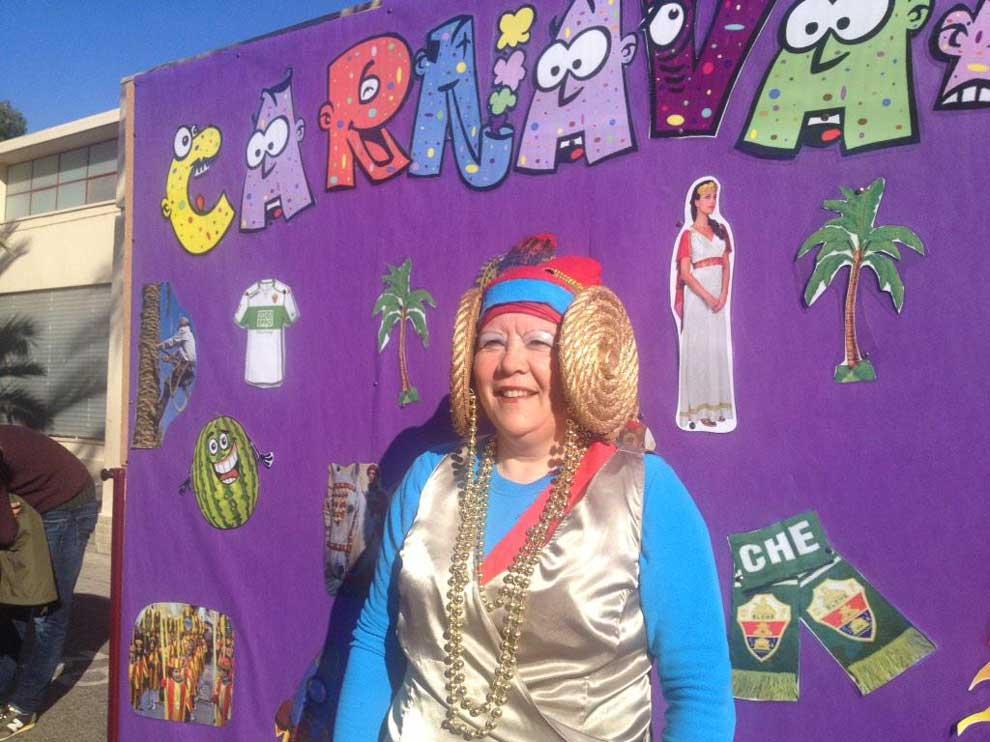 Carnaval del colegio Alcudia en Elche