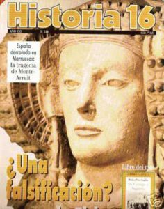 Tomada de http://articulo.mercadolibre.com.ar/MLA-597971934-historia-16-ano-xxi-n-244-agosto-1996-_JM. HISTORIA 16 -  Año XXI / N° 244 - AGOSTO 1996. TAPA RÚSTICA. MADRID - ESPAÑA. AGOSTO 1996. 130 PÁGINAS