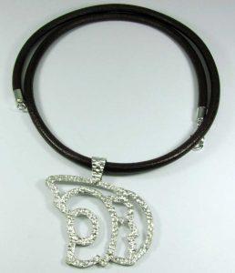 PVP. 90 €. Tomado de http://www.amanojoyas.com/products/dama-plata-grande-/