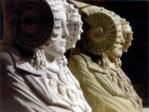 Comparación del 3D con la escultura original. El proyecto Duple consiste en clonar la Dama de Elche mediante el digitalizado de toda su superficie a alta resolución para posteriormente