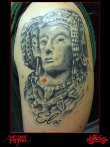 Nahama tattoo. Sant Miquel