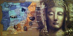 """Imagen del video de la """"sala de la cultura iberica"""" del Museo Arqueológico de Alicante. Tomado de http://www.marqalicante.com/Paginas/es/SALA-DE-LA-CULTURA-IBERICA-P417-M3.html"""