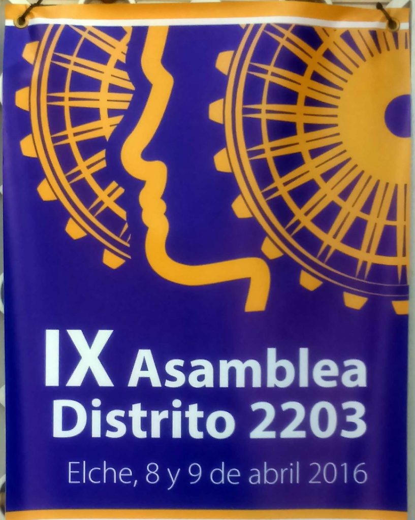IX Asamblea del Distrito 2203 del Club Rotary en Elche