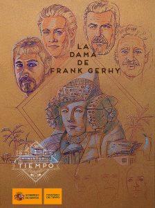 3968-la Dama de Frank Gerhy-boceto