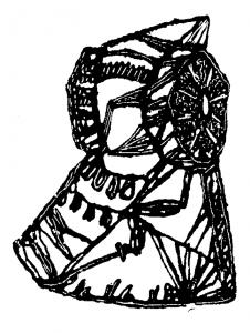 3998-Dama Festa d'Elig1957