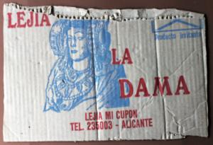 4046-lejía la Dama
