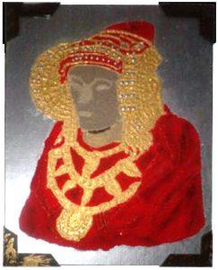 4063-Se vende o hace cuadro de la dama de elche