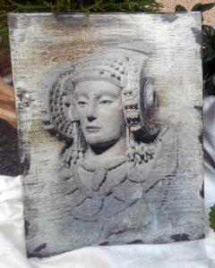 4065-Foto de tinta sobre madera