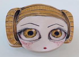 4255-Broche de cerámica hecho a mano2