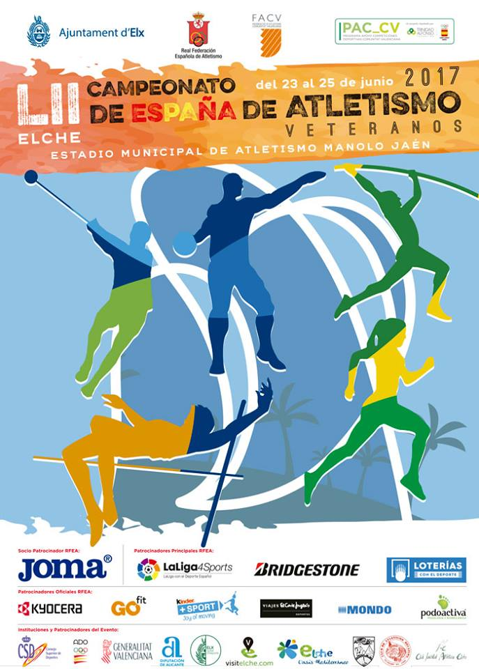 4282-LII Campeonato de España de Atletismo de Veteranos