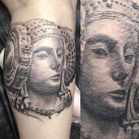 4358-DAMA DE ELCHE ! Habana Tattoo