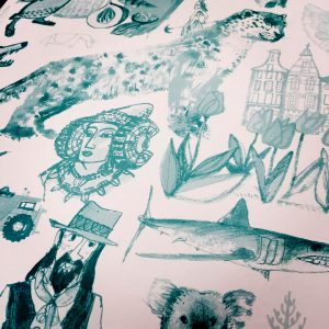 4382-Just the endpapers from my new book
