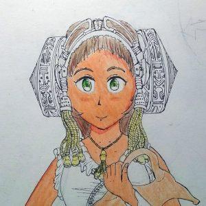 4412-Chica de Vestido Extraño3