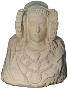 4448-Dama de Elche - Vaciados-Real Academia de Bellas Artes de San Fernando