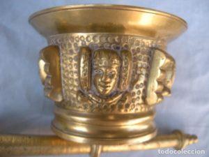 4466-Almirez bronce
