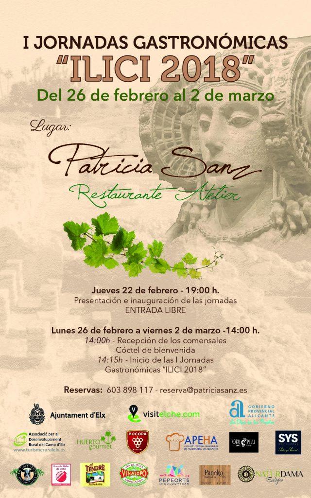 Publicidad Redes Sociales Jornadas Gastronomicas Patricia Sanz