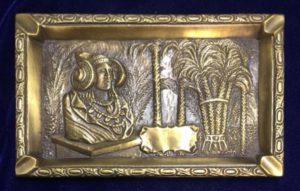 3223-cenicero bronce